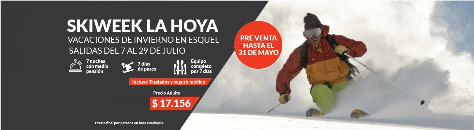 Skiweek en La Hoya - Esquel