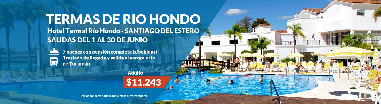 Termas de Rio Hondo - Santiago del Estero
