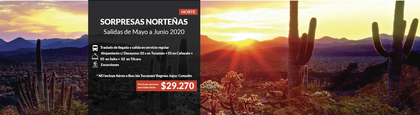 Sorpresas  Norteñas - Tucumán, Salta, Jujuy | Vacaciones