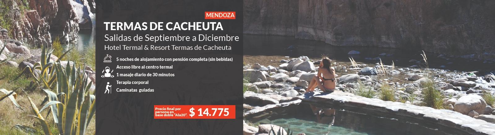 Termas de Cacheuta - Mendoza