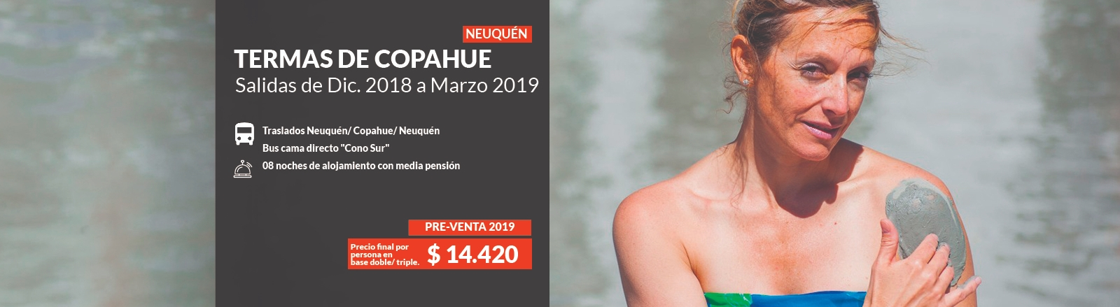 Pre venta Termas de Copahue 2019
