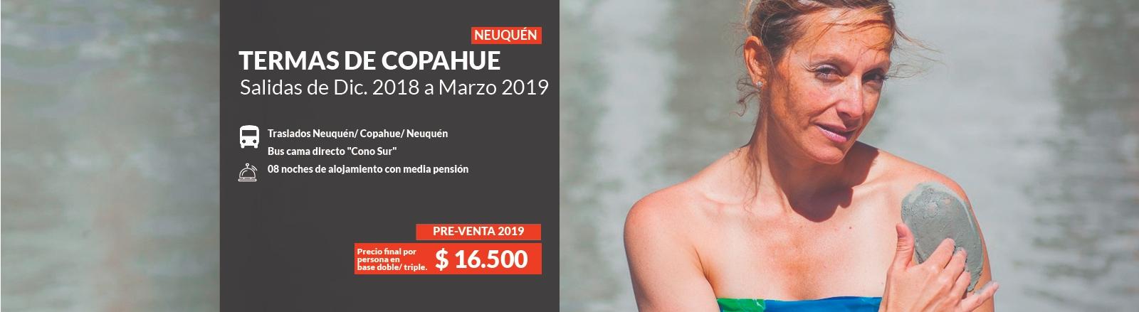 Pre venta Copahue 2019