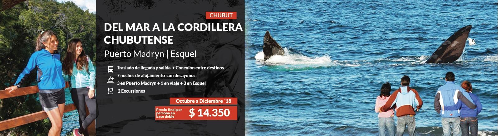 Del Mar a la Cordillera Chubutense