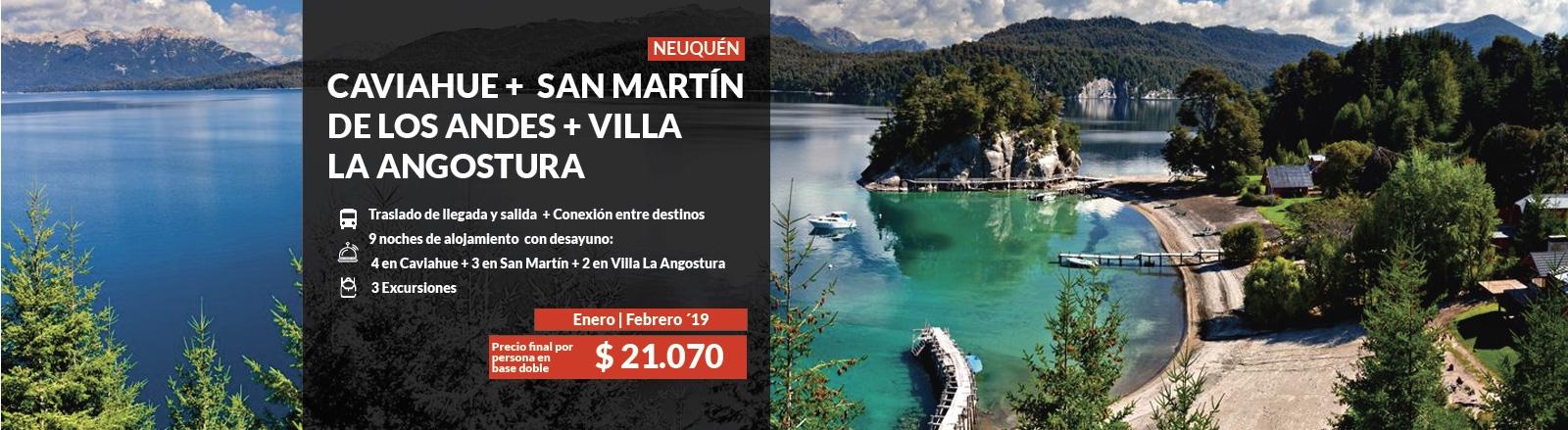 Caviahue, San Martín & Villa La Angostura - Neuquén