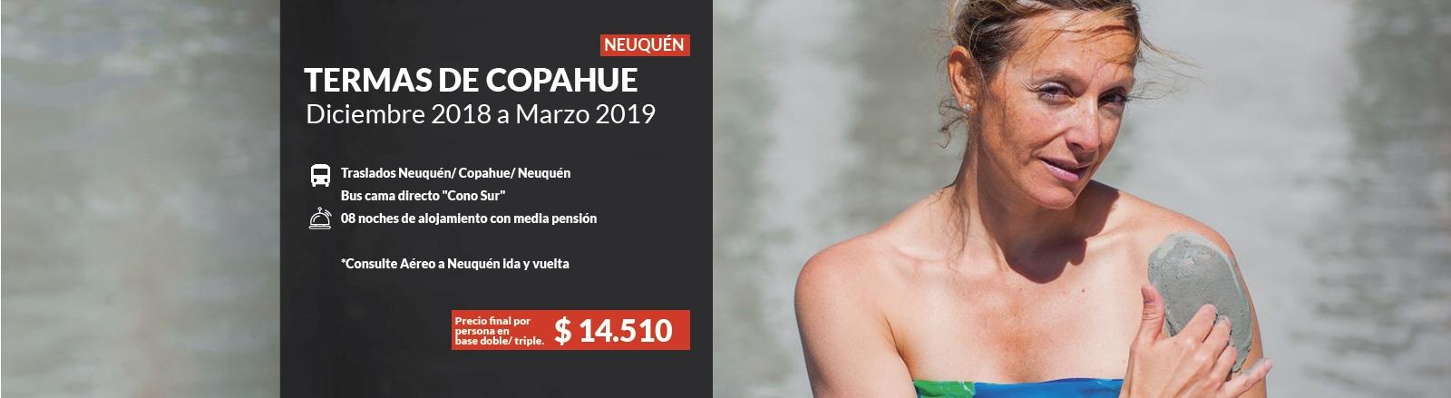 Termas de Copahue - Neuquén