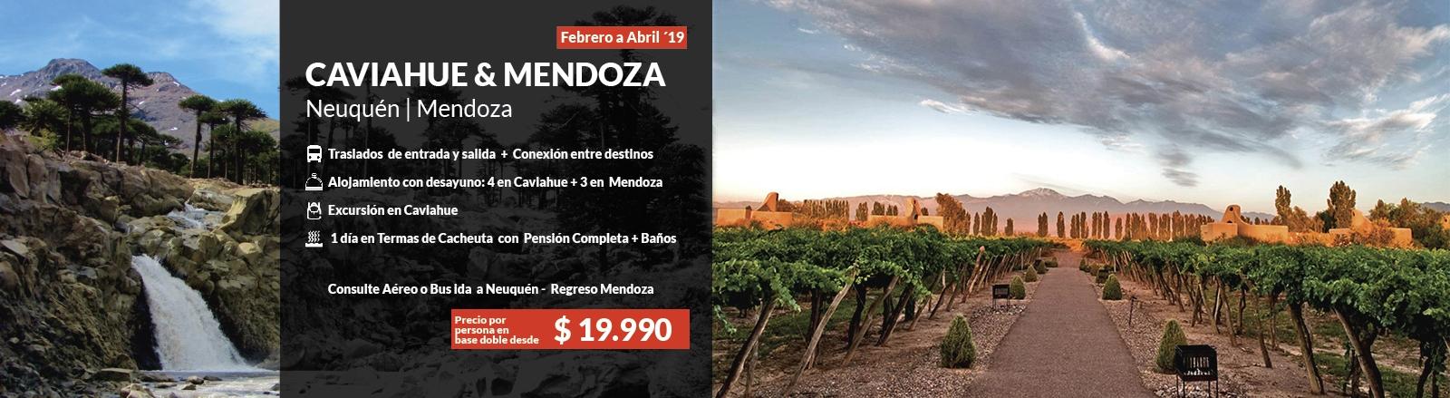 Caviahue & Mendoza