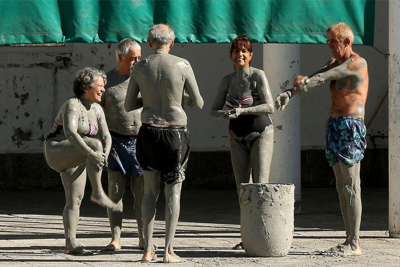 RECURSOS TERMALES EN COPAHUE -  Hoy: Fangos...