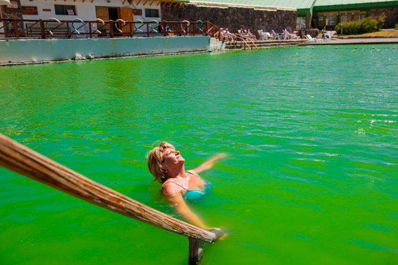 RECURSOS TERMALES EN COPAHUE -  Hoy: Algas