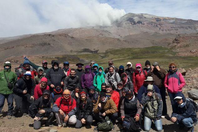 La UNRN llevó adelante un curso internacional sobre el estudio de volcanes activos