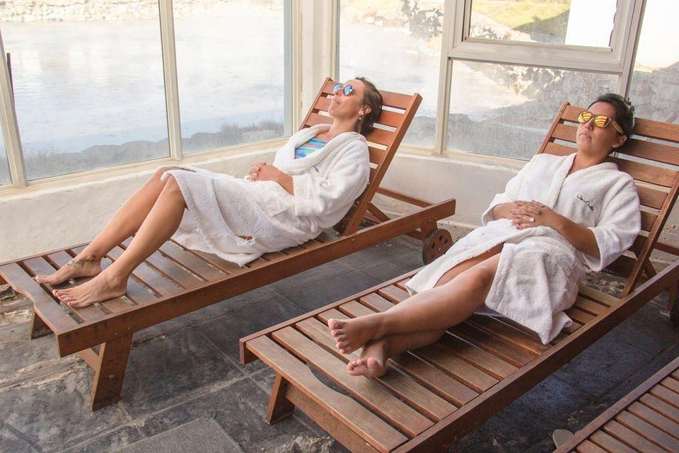 Copahue, el complejo termal que combina placer y salud