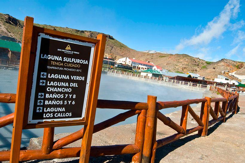RECURSOS TERMALES EN COPAHUE - Hoy: Aguas Termales...