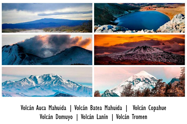 Neuquén, en seis volcanes emblemáticos