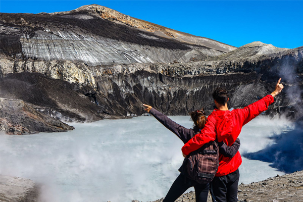 Trekking de ascenso al Volcán Copahue