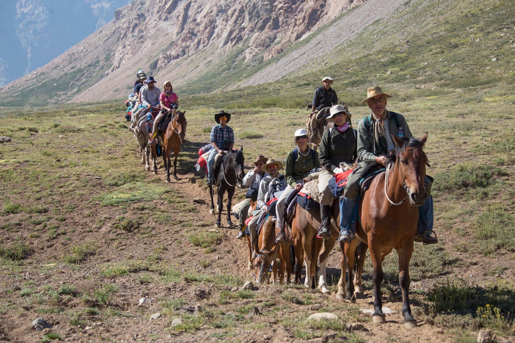 Cabalgata Sanmartiniana - Paso Planchón| Mendoza